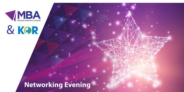 Monash Business Awards Networking